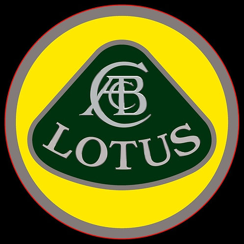 Lotus Badge Sticker