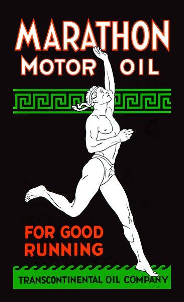 Marathon Motor Oil, For good running