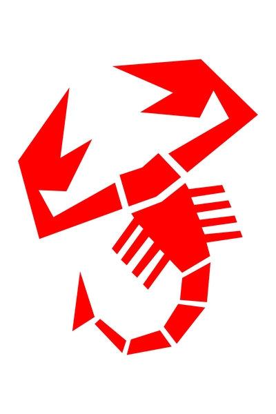 Abarth Scorpion (red) sign