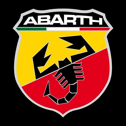 Abarth badge (square) sign