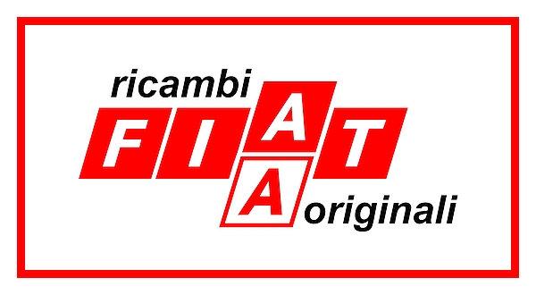 Fiat Ricambi Originali (red) metal sign