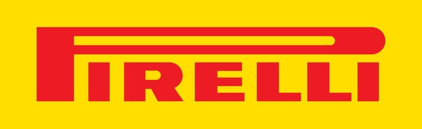 Pirelli (red on yellow) sign