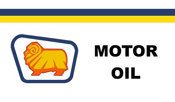 Golden Fleece Motor Oil Sign