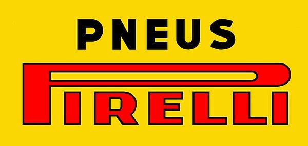 Pneus Pirelli metal sign