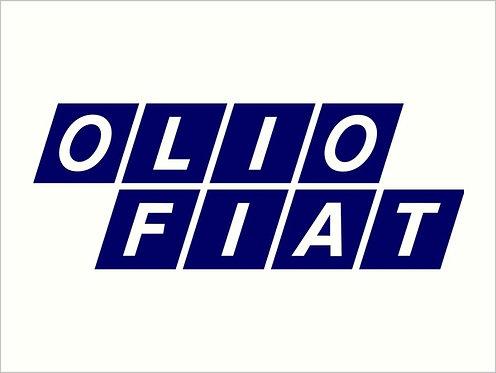 Olio Fiat Sticker