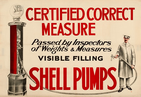 Shell Pumps… Certified Correct Measure