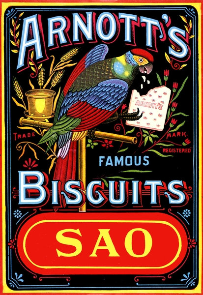 Arnotts SAO Biscuits