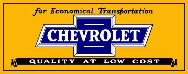 Chevrolet sales sign