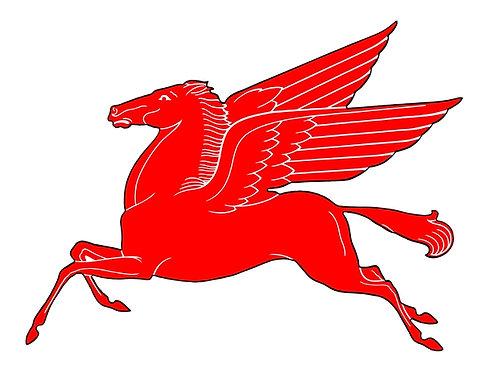 Mobil Pegasus sign