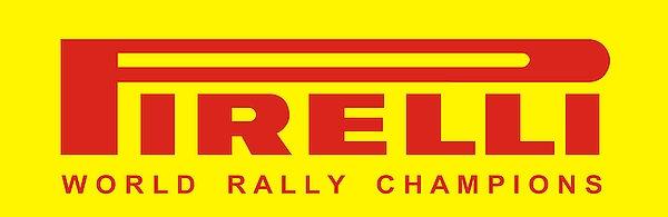 Pirelli World Rally Champions metal sign