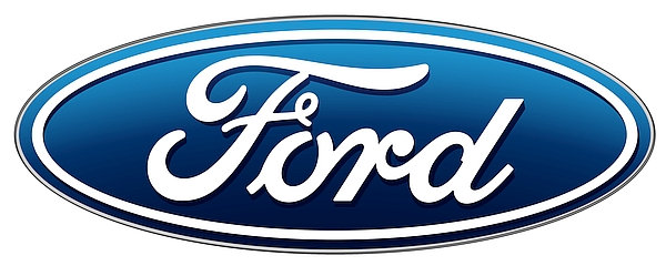 Ford oval metal sign