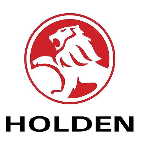 Holden (white square) sign