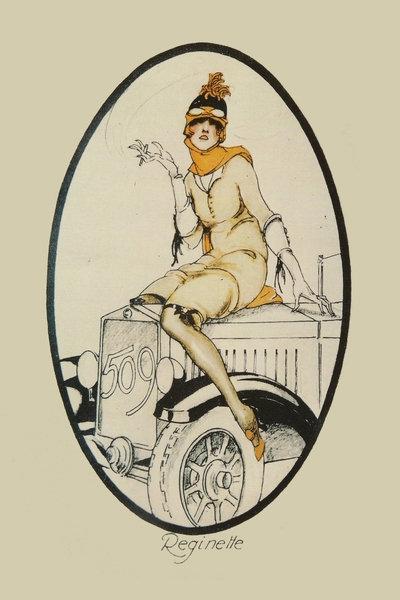 FIAT 509 Advert c. 1925