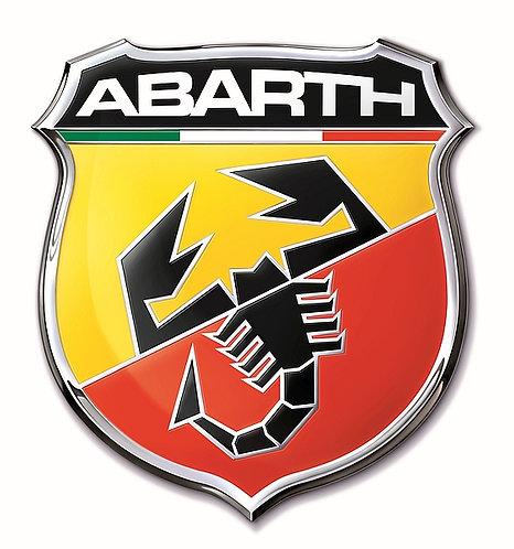 Abarth badge metal sign