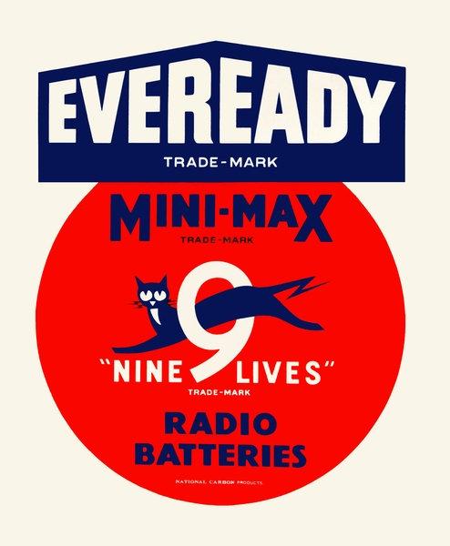 Eveready Mini Max Radio Batteries