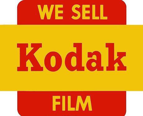 We Sell Kodak Film sign