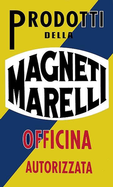 Magneti Marelli Service metal sign