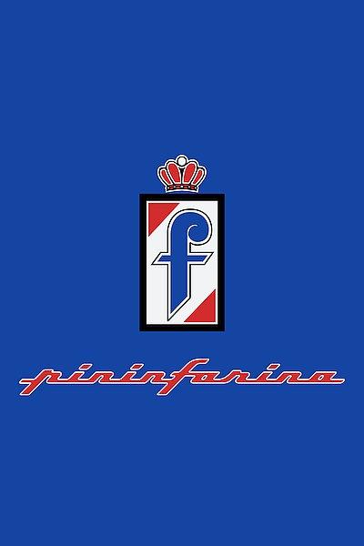 Pininfarina metal sign