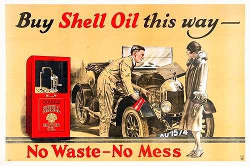 Buy Shell Oil This Way advert