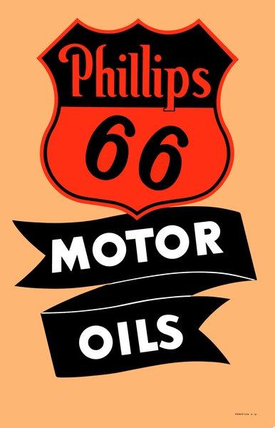 Phillips 66 Motor Oil sign