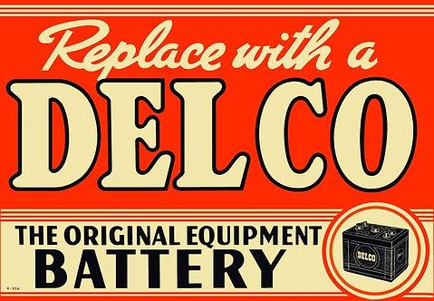 Delco Battery