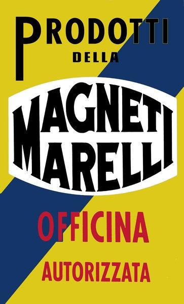 Magneti Marelli Service sign