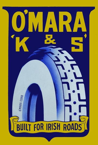 O'Mara 'K & S' tyres