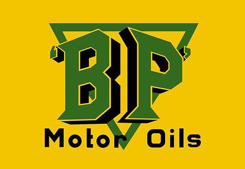 BP Motor Oils sign