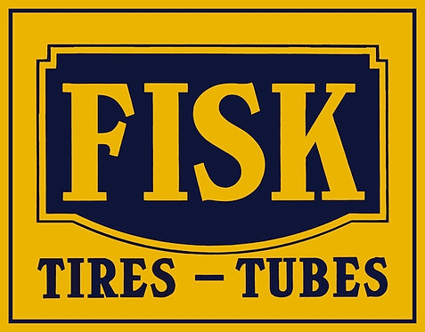 Fisk Tires-Tubes (square) sign