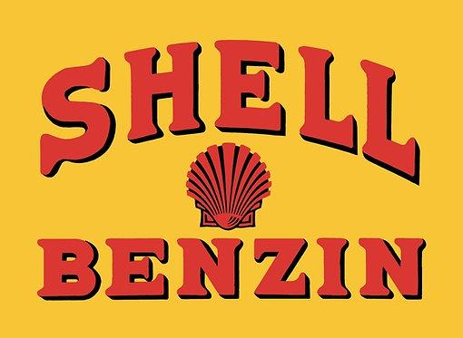 Shell Benzin sign