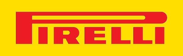Pirelli (red on yellow) metal sign