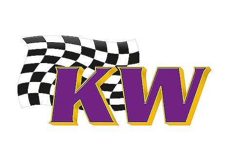 KW metal sign
