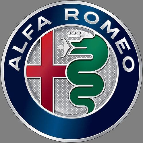Alfa Romeo Badge (Latest Design) 400mm Circle