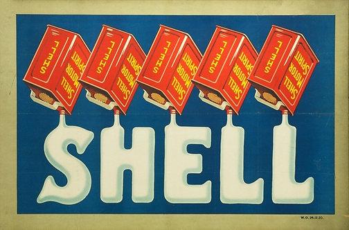 Shell Motor Spirit sign