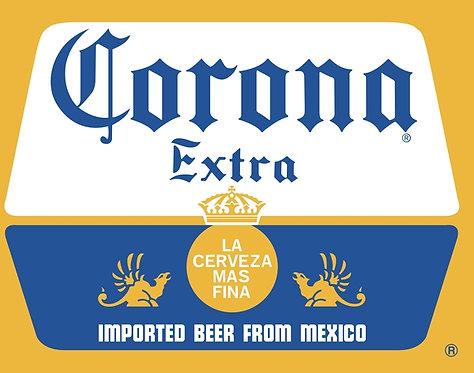 Corona Extra Beer sign