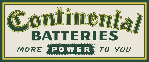 Continental Batteries
