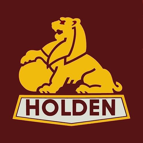 Holden (gold lion) car magnet