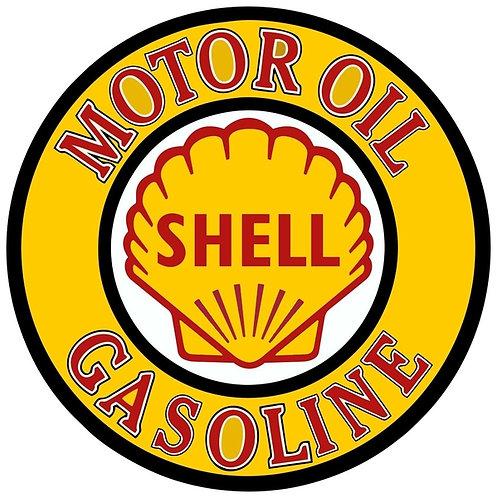 Shell Motor Oil Gasoline sign