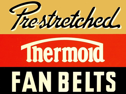 Pre-stretched Thermoid Fan Belts