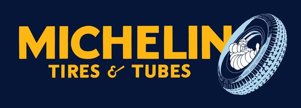 Michelin Tires & Tubes sign