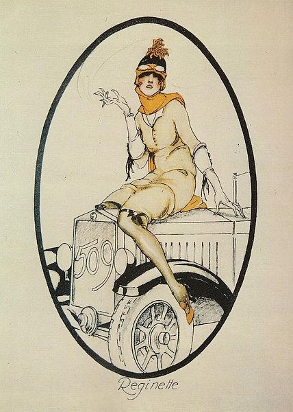 Clearance! FIAT 509 Ad circa 1925