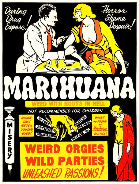 Anti-Marihuana advert