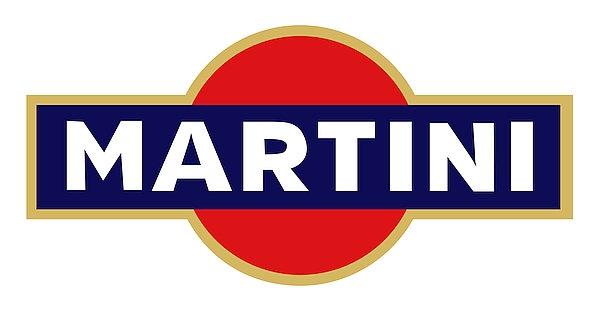 Martini metal sign