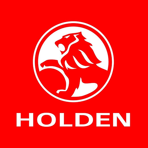 Holden metal sign