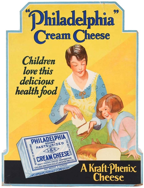 Philadelphia Cream Cheese advert