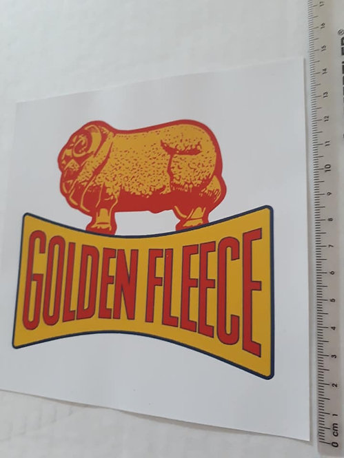 Golden Fleece on white Sticker