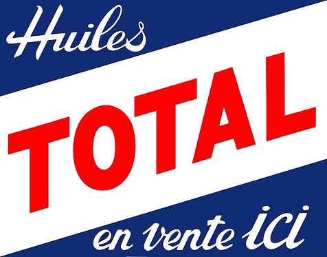 Total, Huiles en vente ici (Oils for sale here)