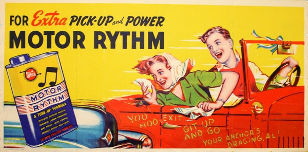 Motor Rythm, for extra pick up and power