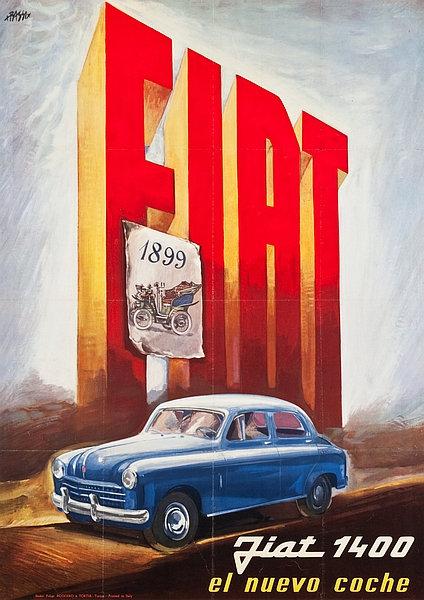 Fiat 1400 el nuevo coche Sign