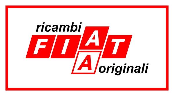 Fiat Ricambi Originali (red) sign